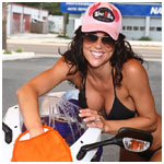 April at St. Pete Powersports Bikini Bike Wash