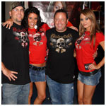 Jeff, April, Tres and Erika at the XFC fights